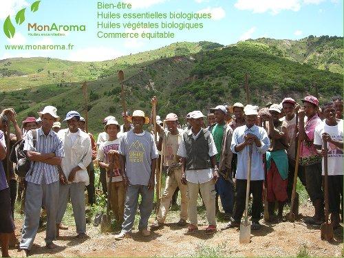 les agriculteurs affiche MonAroma 500x375
