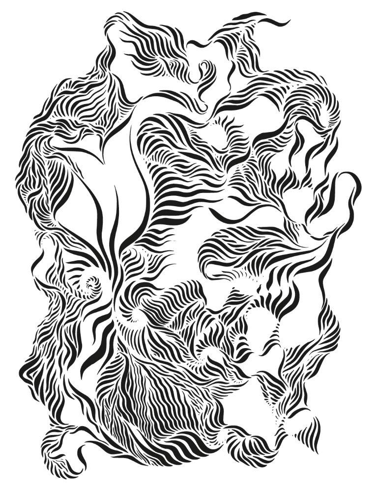 Prélude n°3 - Barthélémy - Encre sur papier A4+